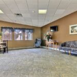 waiting room and lobby at Valley View Healthcare Center