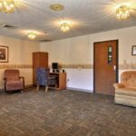 lounge area at Valley View Healthcare Center