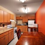 an occupational therapy kitchen at Kokomo Healthcare Center