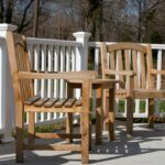 patio chairs at Indian Creek Healthcare Center