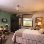 single patient bedroom at The Pines Healthcare Center