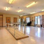 senior rehabilitation gym at Great Lakes Healthcare Center