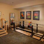 a senior rehabilitation gym at Kokomo Healthcare Center