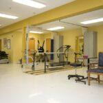 senior rehabilitation gym at Wedgewood Healthcare Center