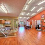 a senior rehabilitation gym at Wildwood Healthcare Center