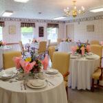 formal dining room at Salem West Healthcare Center